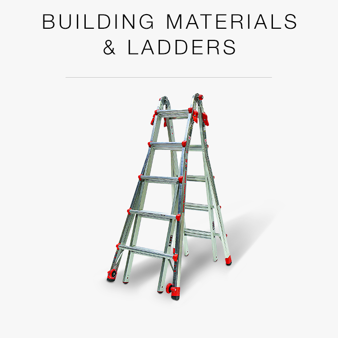 Building Materials & Ladders